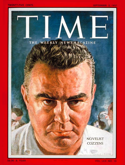 TIME Magazine Cover: James Cozzens -- Sep. 2, 1957
