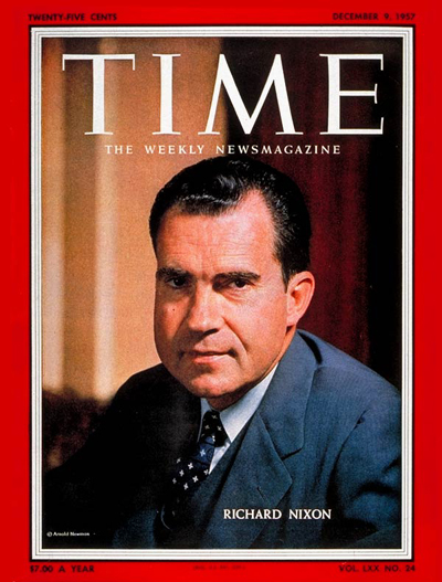 Vice President Richard M. Nixon.