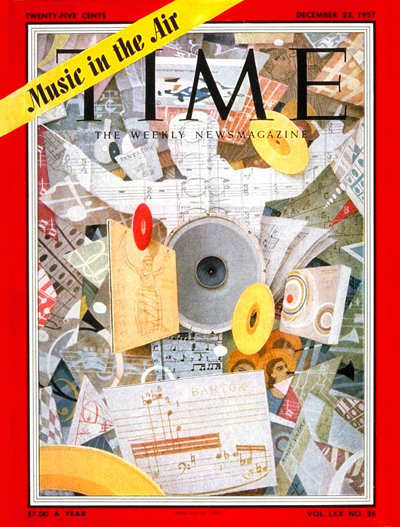 TIME Magazine Cover: U.S. Music Boom -- Dec. 23, 1957