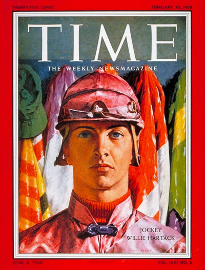 TIME Magazine Cover: Willie Hartack -- Feb. 10, 1958