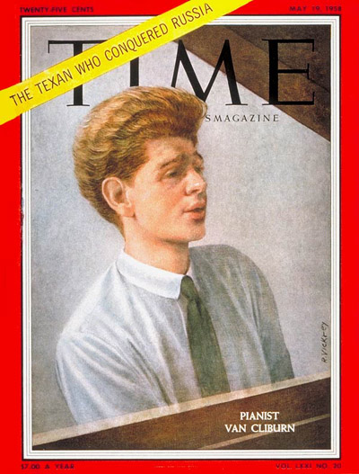 TIME Magazine Cover: Van Cliburn -- May 19, 1958