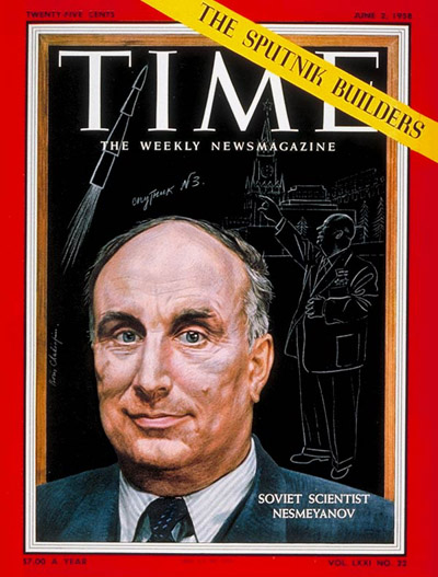 TIME Magazine Cover: Alexandr Nesmeyanov -- June 2, 1958