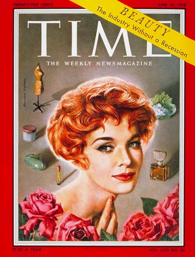 TIME Magazine Cover: Jean Thorn -- June 16, 1958
