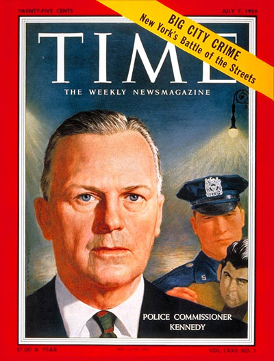 TIME Magazine Cover: Stephen Kennedy -- July 7, 1958