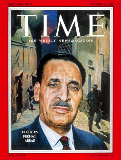 TIME Magazine Cover: Ferhat Abbas -- Oct. 13, 1958