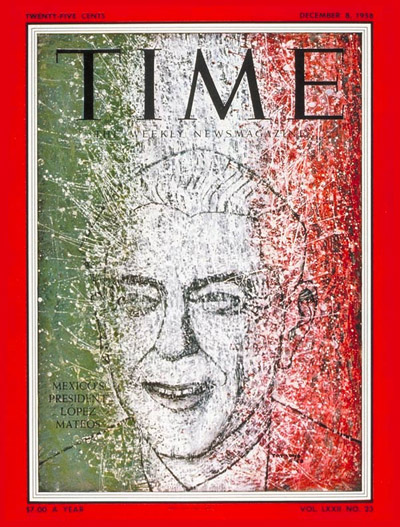 TIME Magazine Cover: Adolfo Mateos -- Dec. 8, 1958