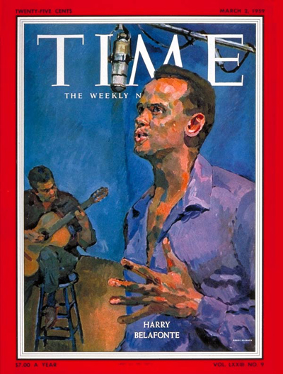 TIME Magazine Cover: Harry Belafonte -- Mar. 2, 1959