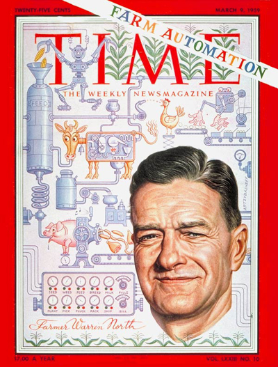 TIME Magazine Cover: Warren North -- Mar. 9, 1959