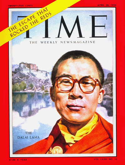 TIME Magazine Cover: The Dalai Lama -- Apr. 20, 1959