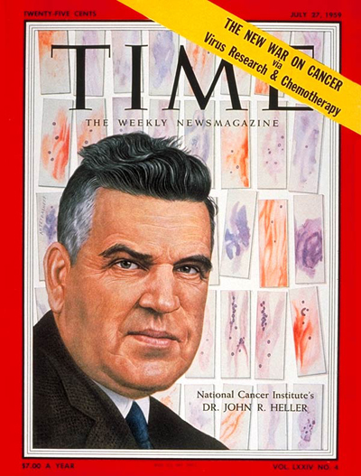 TIME Magazine Cover: Dr. Roger Heller -- July 27, 1959
