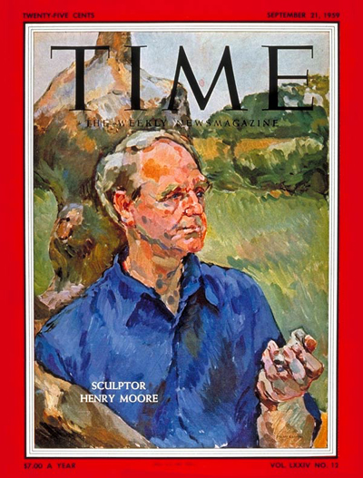 TIME Magazine Cover: Henry Moore -- Sep. 21, 1959