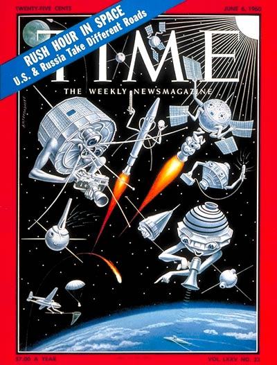 TIME Magazine Cover: U.S. Satellites -- June 6, 1960