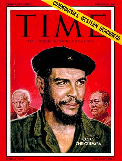 Ernesto ('Che') Guevara, president of Cuba's National Bank and brain behind Fidel Castro's revolution