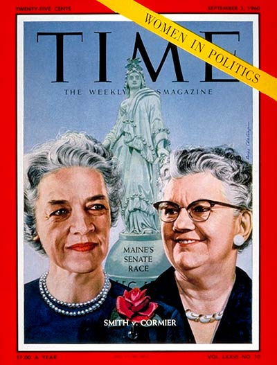 TIME Magazine Cover: Margaret Chase Smith, Lucia M. Cormier -- Sep. 5, 1960