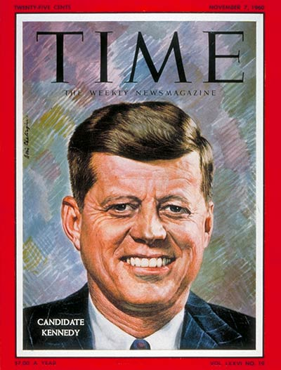 TIME Magazine Cover: John F. Kennedy -- Nov. 7, 1960
