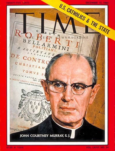 TIME Magazine Cover: John Courtney Murray -- Dec. 12, 1960