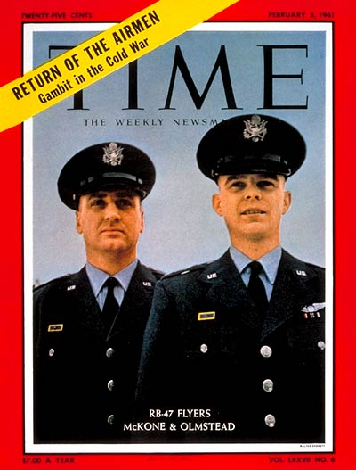 TIME Magazine Cover: John McKone, Bruce Olmstead -- Feb. 3, 1961