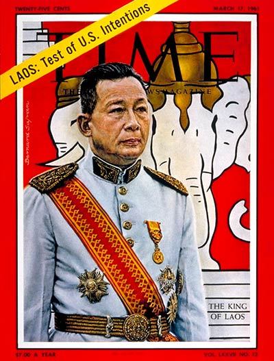 TIME Magazine Cover: King Savang Vatthana -- Mar. 17, 1961