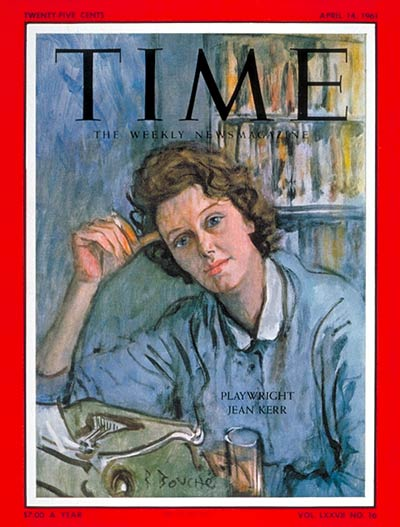 TIME Magazine Cover: Jean Kerr -- Apr. 14, 1961