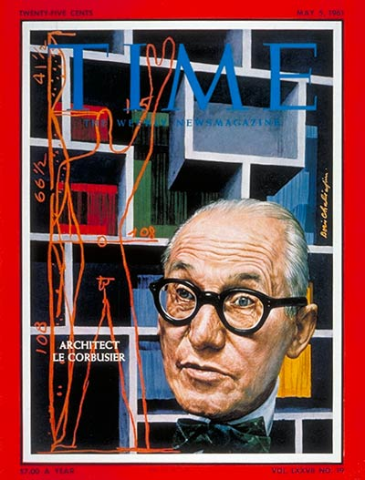 TIME Magazine Cover: Le Corbusier -- May 5, 1961