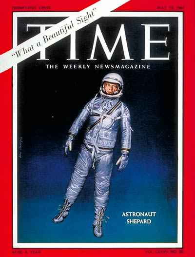 TIME Magazine Cover: Alan Shepard -- May 12, 1961