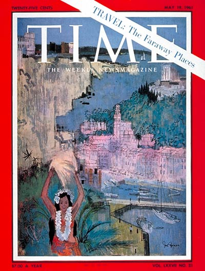 TIME Magazine Cover: The Faraway Places -- May 19, 1961