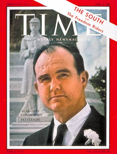 TIME Magazine Cover: Gov. John Patterson -- June 2, 1961