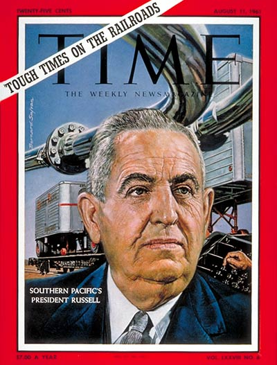 Southern Pacific President Donald J. M. Russell