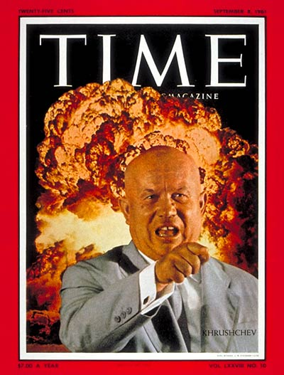 TIME Magazine Cover: Nikita Khrushchev -- Sep. 8, 1961