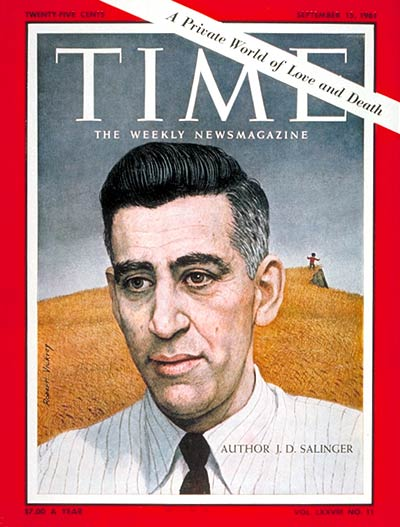 TIME Magazine Cover: J.D. Salinger -- Sep. 15, 1961