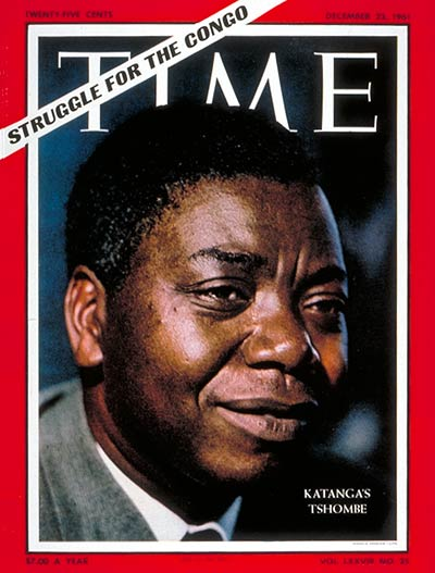 TIME Magazine Cover: Moise Tshombe -- Dec. 22, 1961