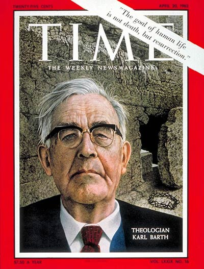 TIME Magazine Cover: Karl Barth -- Apr. 20, 1962