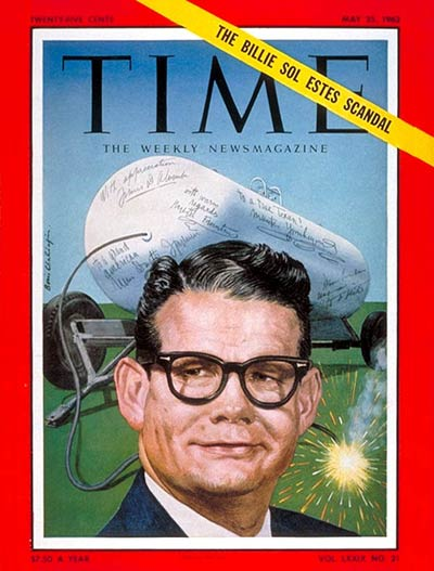 TIME Magazine Cover: Billie Sol Estes -- May 25, 1962