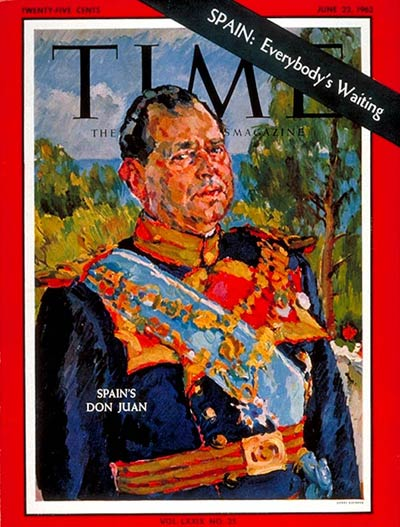 TIME Magazine Cover: Don Juan -- June 22, 1962
