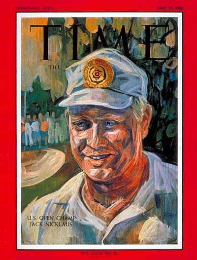 TIME Magazine Cover: Jack Nicklaus -- June 29, 1962