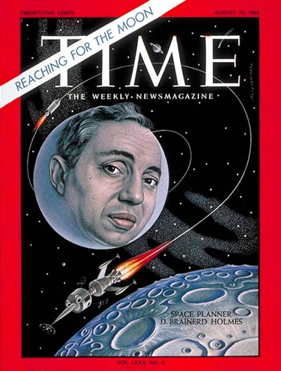 TIME Magazine Cover: D. Brainerd Holmes -- Aug. 10, 1962