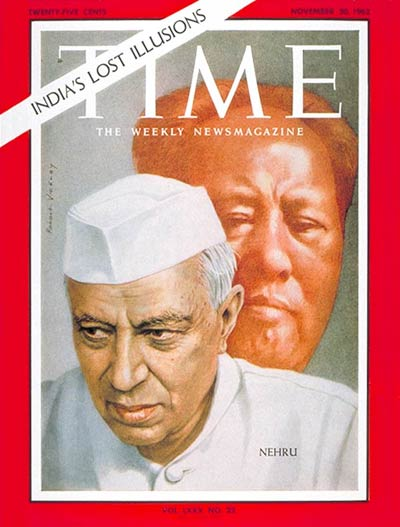 TIME Magazine Cover: Jawaharlal Nehru -- Nov. 30, 1962