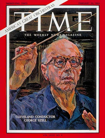 TIME Magazine Cover: George Szell -- Feb. 22, 1963