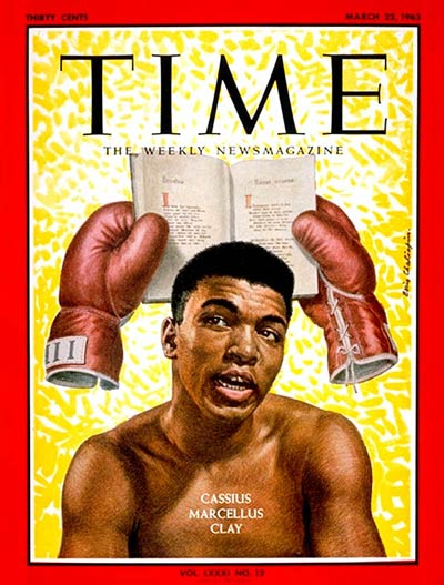 TIME Magazine Cover: Cassius Clay -- Mar. 22, 1963