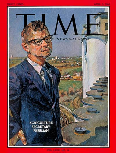 TIME Magazine Cover: Orville Freeman -- Apr. 5, 1963