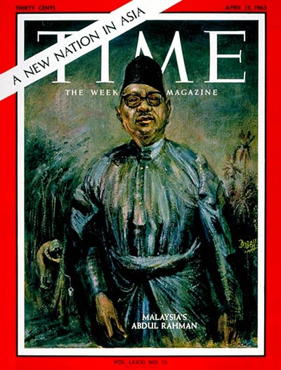 TIME Magazine Cover: Abdhul Rahman -- Apr. 12, 1963