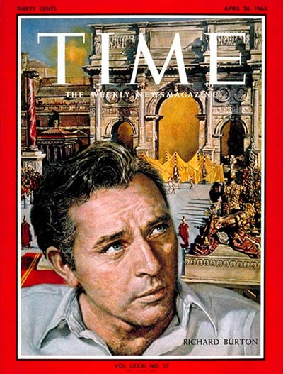 TIME Magazine Cover: Richard Burton -- Apr. 26, 1963