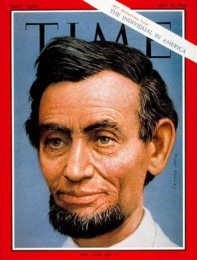 TIME Magazine Cover: Abraham Lincoln -- May 10, 1963