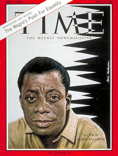 TIME Magazine Cover: James Baldwin -- May 17, 1963