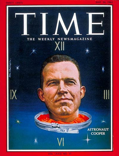 TIME Magazine Cover: Gordon Cooper -- May 24, 1963