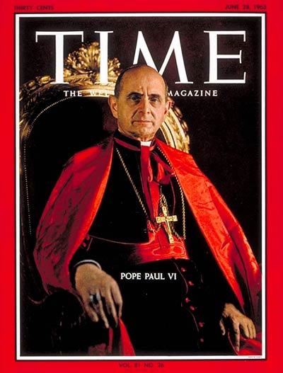 TIME Magazine Cover: Pope Paul VI -- June 28, 1963