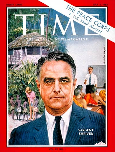 TIME Magazine Cover: Sargent Shriver -- July 5, 1963