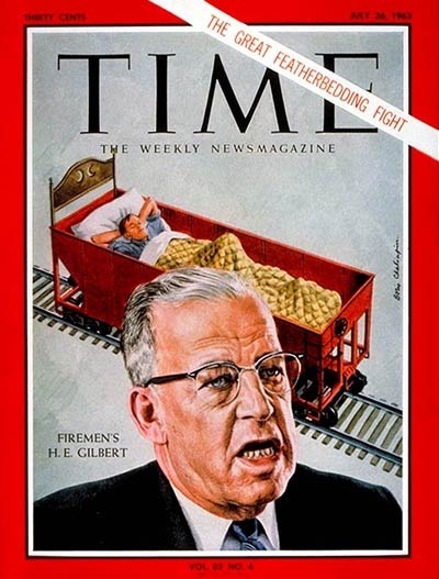 TIME Magazine Cover: H. Edward Gilbert -- July 26, 1963