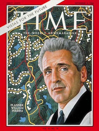 TIME Magazine Cover: William L. Pereira -- Sep. 6, 1963
