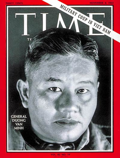 TIME Magazine Cover: Lt. General Van Minh -- Nov. 8, 1963